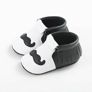 Cute Leather Baby Shoes Tassel Soft Sole Non Slips Newborn Infant First Walkers