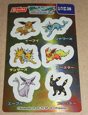 Japanese Pokemon Nissui Sticker Seal Advanced Generation Series - Umbreon #28