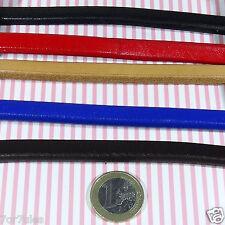 5 Piezas Cuero Legitimo Para Abalorios Regaliz 20cmA113C (1 METRO)Cuir Leather