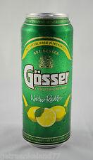 Gösser Natur Radler 24x0,5 Liter Dosen  ''GUT BESSER GÖSSER''
