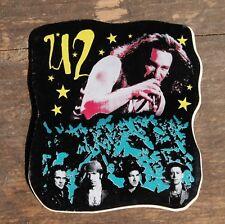 """Vintage U2 Bono Rock Band Sticker 3"""" x 3.5"""" +"""