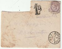 1900 BOER WAR FIELD POST OFFICE BRITISH ARMY PO SOUTH AFRICA H/S 1d POSTAGE DUE