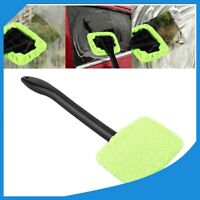 Microfiber Windshield Clean Car Auto Wiper Cleaner Glass Window Tool Brush