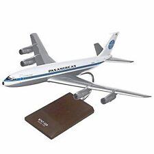 Pan American Am Boeing 707-320 Desk Display Jet Model 1/100 Aircraft ES Airplane