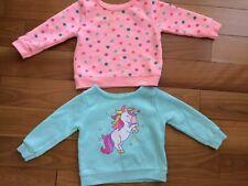 Baby Girl Clothes 2 Sweatshirts from Garanimals, 6-9 Months