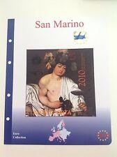 Una Envoltura Masterphil División San Marino 2010 - Tarjeta Detallada Italia