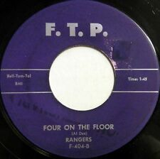 RANGERS 45 Four On the Floor F.T.P. Hot Rod SURF Rock n' Roll #BB373