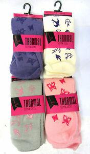 Ladies Anucci thermal slipper socks   SIZE 4-7    SK130
