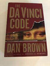 The Da Vinci Code By Dan Brown (Hardback Cover)