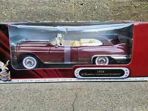 Road Signature 1958 Cadillac Eldorado Biarritz 1:18 Scale Diecast Model Car