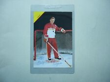 1990'S NHL HOCKEY PHOTO POSTCARD TERRY CRISP AUTHENTIC AUTOGRAPH AUTO SHARP!!