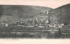 Gruss aus Gemunden a.M.,Germany,View of Town,Bavaria,c.1901--06