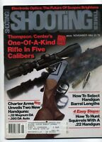 SHOOTING TIMES Magazine November 1984 Thompson's Center's One of A Kind