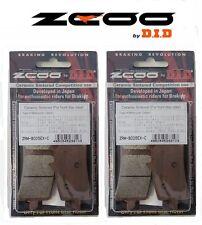 ZCOO 2 COPPIE PASTIGLIE FRENO ANTERIORE EX-C PER HONDA CBR RR SP 1000 2014