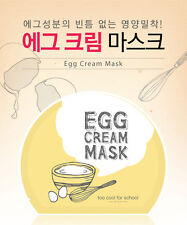 [TOO COOL FOR SCHOOL] Egg Cream Facial Mask 28g MADE IN KOREA NEW
