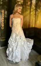 Vintage vestido de novia-vestido de noche * sensacional * talla 40 muñeco * Mannequin