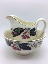 Pretty Vintage Grindley China Milk Jug & Sugar Bowl