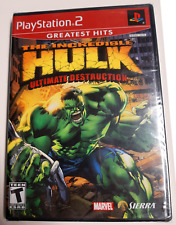New listing Playstation 2 Sony Ps2 The Incredible Hulk Ultimate Destruction New and Sealed!