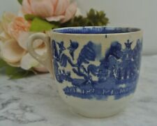 Vintage Blue Willow Mug Unmarked