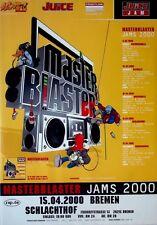 MASTERBLASTER JAMS - 2000 - Konzertplakat - Hip Hop - Concert