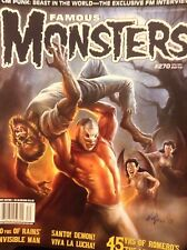 Famous Monsters Magazine CM Punk 80 Years Of Rains' December 2013 121317nonrh