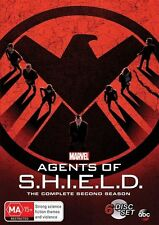 MARVEL AGENTS OF S.H.I.E.L.D. : SEASON 2 (DVD, R4, 6-Disc Set, Free Postage)
