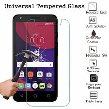 """100% Genuine Tempered Glass Film Screen Protector For Alba 5 Inch (Universal 5"""")"""