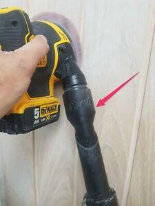 Dewalt palm sander DWE6423 42.7ID to 32EX Henry vacuum hose adapter