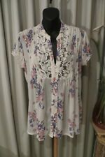 VINTAGE   ~ TARGET ~ Smock Style BLOUSE/TOP ~ Size 12 ~