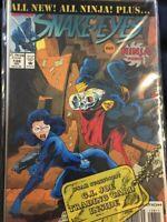 Sealed! G.I. Joe Starring Snake Eyes and Ninja Force July #138 Free Shipping ex