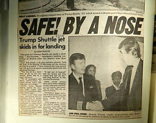 1986-1994 Aircraft Accidents; Trump In Turbulence And Other Aviation Incidents!