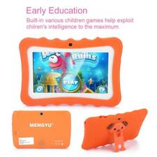 "7"" Android Quad Core Tablet PC 8GB Dual Camera WIFI Bluetooth Per Bambini"