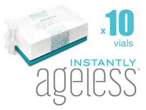GENUINE✅ INSTANTLY AGELESS™ •NEW• RESEALABLE VIALS  x10 📮FREEPOST✅