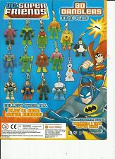 Green Lantern DC Super Friends 3D Danglers with plug