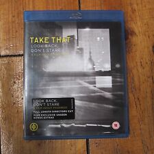 Take That - Look Back, Don't Stare. A Film About Progress Blu-ray New Unsealed