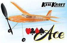 "Keil Kraft KK2020 - Ace 30"" Wingspan Rubber Powered Duration Balsa Model T48Post"