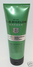 BATH BODY WORKS CO BIGELOW BARBER HAIR WASH ELIXIR GREEN SHOWER GEL NO 1606 8 OZ