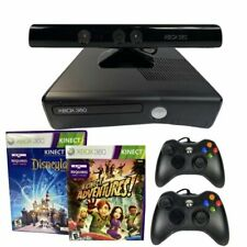 Xbox 360 S 4GB Kinect Console Bundle with Kinect Adventures and Kinect Disneylan