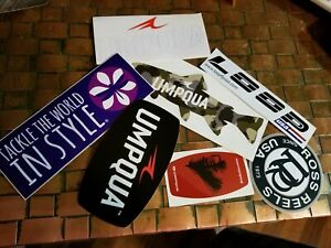 Fly Fishing Industry Stickers/Lot of 7