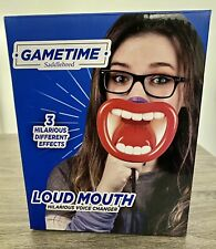 GAMETIME LOUD MOUTH Voice Changer 3 Different Effects Box Open But Still New
