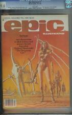 EPIC ILLUSTRATED #3 CGC 9.6 1ST APP VANTH DREADSTAR JIM STARLIN MOVIE