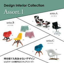 Design Interior Collection Designers Chair 1/12 scale Series A From Japan New
