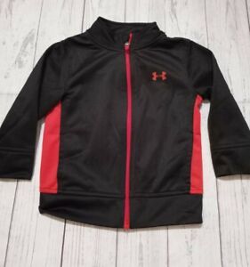 Under Armour Black/Red Boys Jacket Size 2t