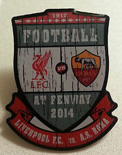 2014 Football at Fenway Park 2014 - Liverpool / Rome Lapel Pin