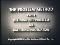 The Problem Method P1 Defining The Problem & Gathering Information 16mm 1955