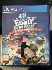 Hasbro Family Fun Pack (Playstation 4, 2015) sehr guter Zustand