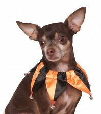 Rubie's Halloween Orange/Black Festive Collar Pet Costume