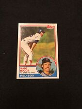 1983 Topps Wade Boggs Rookie RC #498 MINT HOF Boston Red Sox *69