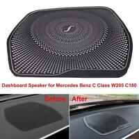 Dashboard Speaker Cover Stickers Trim for Mercedes Benz C Class W205 C180 15-17