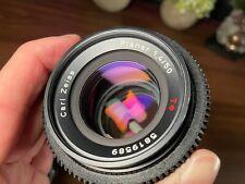 CONTAX ZEISS Planar T* 50mm f/1,4 AEJ (Cine-Mod / de-clicked & focus gear)